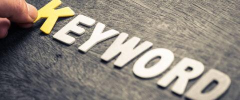 מחקר מילות מפתח בגוגל